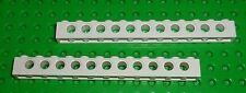 LEGO - TECHNIC - WHITE - BRICK, 1 x 12  - x 2 (3895)  TK107