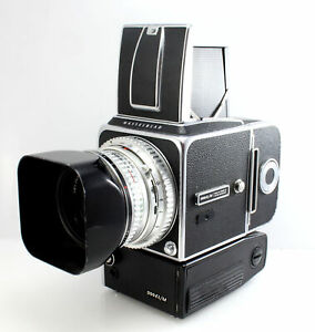 Hasselblad EL/M Medium Format Camera Complete with 80mm f/2.8 Lens and C12 Back