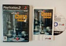 Chess Challenger (Sony PlayStation 2, 2004) + Handbuch