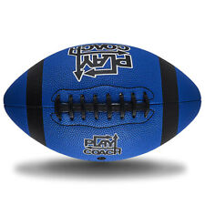 PlayCoach Peewee High-Quality Unique Grip Youth Football for Kids 6 to 9, Blue