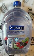 Softsoap Liquid Hand Soap Refill Aquarium 50 OZ. WASH AWAY GERMS -Large Refill