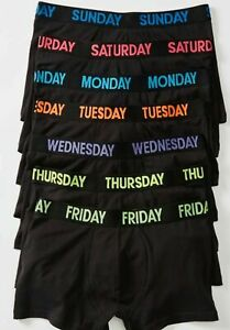 Maxx 7 Days Of The Week Men's Trunks