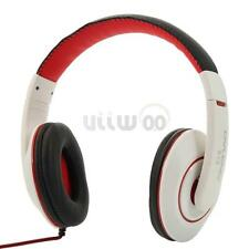 OVLENG 3.5mm Stereo Headset Headphones DJ with Mic Over-Ear for Tablet Cellphone