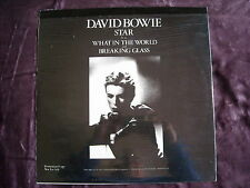DAVID BOWIE. STAR/WHAT IN THE WORLD. 1978 . PROMO . NEUF