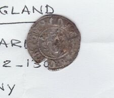 More details for damaged edward i 1272-1307 hammered silver penny coin in used fine condition