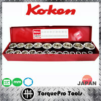 KOKEN 4251M 1/2'' Metric Socket Set