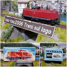 MÄRKLIN / MARKLIN 3072 DB LOCOMOTIVA DIESEL V 100 2215 AC 1:87 H0 HO