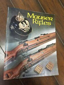 MAUSER RIFLES NRA AMERICAN RIFLEMAN REPRINT 1994 6th printing 32 PGS