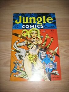 Dave Stevens Signed Jungle Comics Comic Book/Good Girl Art/ Free Shipping!