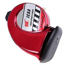 Universal Motorcycle Motocross Cruiser Bikes Sport Horn DC12V 510Hz Dust Cap Red
