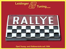 Kadett B   Rallye   Emblem / Schrift für Kofferraumdeckeldeckel