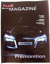 AUDI MAGAZINE du 03/2003; L'A3 V6 3.2/ L'Audi Le Mans Quattro/ Vision 3D