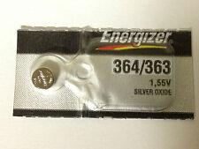 2 ENERGIZER 363 364 AG1 G02 SR621 SR60 164 LR621 LR60 D364 SILVER OX Battery