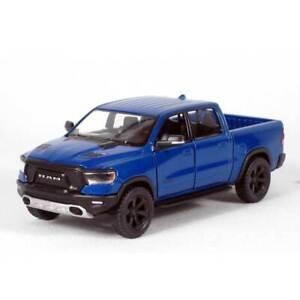 "5"" Die-cast: 2019 RAM 1500 Pickup Truck (Blue) 1/46 Scale"