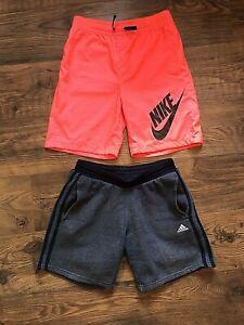 Boys Nike & Adidas Shorts - Size Large Boys - 12-13 years