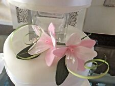 WEDDING CAKE SUGAR STAR LILIES IN PALE PINK, ALSO IN MORE COLOURS,