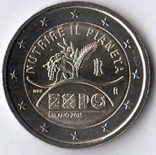 2 euro commemorativo Italia 2015 Expo