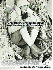 PUBLICITE ADVERTISING 115  1978  FRANCE ARNO  les boots ELODIE