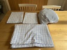 The Little White Company Gingham Single Bedding Set