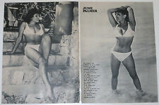 June palmer 3 page 1973 article sexy uk 1960s Harrison marks model clippings