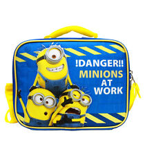 New Despicable Me Minions Insulated Lunch Bag-At Work