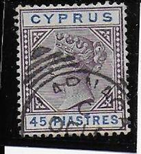 CYPRUS  1894  45 pi  SG49 used