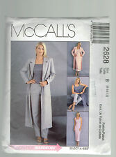 McCALLS pattern 2628 business wardrobe select a size 8 10 12 uncut unused