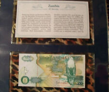 20 50 100 Kwacha 1992 UNC Set of 3 Banknotes Notes P 36a 37a 38a ZAMBIA