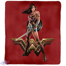 Wonder Woman Printed Polar Fleece Throw Rug Blanket | Jusice League merchandise
