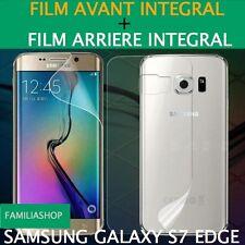 Film protection entier total pour Samsung Galaxy S7 Edge  + 1 film arrière