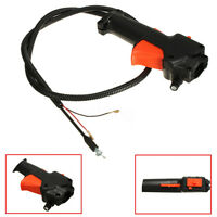 Strimmer Trimmer Brush Cutter Handle Switch Throttle Trigger Cable Fit 26mm Tube