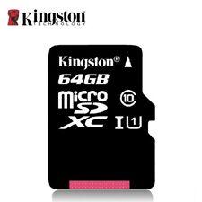 MICRO SD KINGSTON 64 GB (CLASSE 10) - SDCX10/64GB