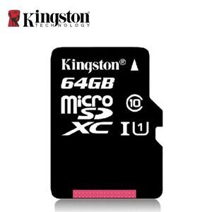 Kingston - Mikro SD 64 GB (Class 10)