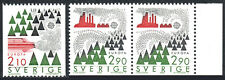 Sweden 1605,1606 pair, MNH. Europa. Automotive and Industrial pollutants, 1986