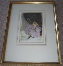"~RARE~Russell Flint  ""The Mauve Frock"" Limited Edition of 856 Print (Framed)"