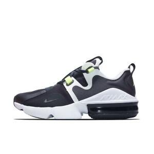 Nike Air Max Infinity Running Shoes BQ3999 001 Black White US Men Size 9.5