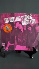 "ROLLING STONES - MISS YOU - 45 RPM 7"" - VG-VG - PRINTED IN USA 1978"