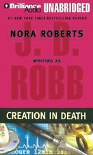 CREATION IN DEATH unabridged audio book CD by J.D. ROBB / NORA ROBERTS Brand New