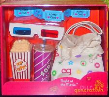 New Our Generation Night at the Movies Movie Theater fits American Girl