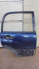 SUZUKI GRAND VITARA 2001 5DOOR OFFSIDE DRIVERS SIDE REAR DOOR BLUE Z20