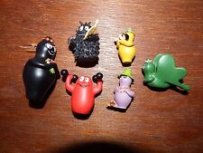 Bundle 6 Mini Figurine Barbapapa Toy Playset Barbamama Barbabo Barbawum BARBALIB