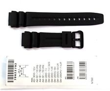 CASIO ORIGINAL WATCH BAND: 70622792  DW-290 AW-61 AD-300  Black Resin Band