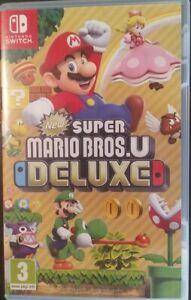 Super Mario Bros. U Deluxe - (Nintendo Switch, 2019)