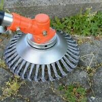 Solide-Steel Weed Brush Lawn Weed Mower Best Home Garden Tool O5M2