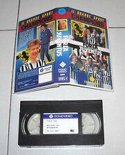 Vhs FORZA JUVENTUS Calcio Domovideo 1988 I Grandi sport Champions Football