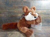 "Animal Adventure Plush Brown Fox Stuffed Animal Plush Toy Lovey 2003 HTF 22"" Toy"