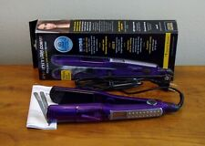 "Conair Infiniti Pro 1 1/2"" (38mm) Ionic Steam Flat Iron Purple (US Seller)"