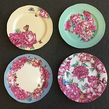 Miranda pastry plate X 2 / Choose 2 From White, Blue, Green, Yellow