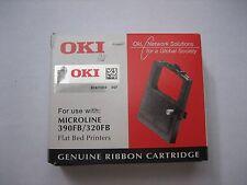 Oki 09002310 - Ml320/390 Flatbed BLK Nyl Ribbon