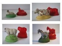 Nativity Animals Rubber Latex Moulds - Christmas 7-set